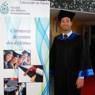 Cérémonie de remise des diplômes 2013